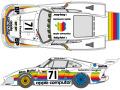 SHUNKO D423 1/24 Porsche 935K3 Apple Computer 1980 LM decal set (for NuNu) 【メール便可】