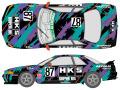 SHUNKO D434 1/24 HKS GT-R 1993 decal set (for Tamiya) 【メール便可】