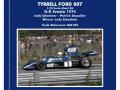 TAMEO kit SLK103 Tyrrell Ford 007 Sweden GP 1974 Schecter /Depailler