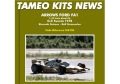 TAMEO kit SLK106 Arrows FA1 Sweden GP 1978 Patrese /Stommelen
