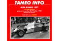 TAMEO kit SLK109 Alfa Romeo 182T Practice Italia GP 1982 A.Cesaris