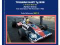 ** 予約商品 ** TAMEO SLK113 トールマン Hart TG183B Test Silverstone 1983 A.セナ
