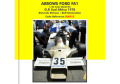 TAMEO kit SLK115 Arrows FA1 South AfricaGP 1978 Patrese /Stommelen