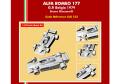 TAMEO kit SLK123 Alfa Romeo 177 Belgio GP 1979 B.Giacomelli