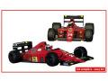 TAMEO SLK130 Ferrari F1-89 Portugal GP 1989 G.Berger / N.Mansell