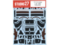 STUDIO27デカール CD20007 1/20 Red Bull RB6 Carbon Decal (for Tamiya) 【メール便可】
