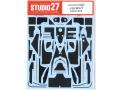 STUDIO27デカール CD20018 1/20 マクラーレン MP4/7 カーボンデカール T社対応【メール便可】