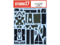 STUDIO27デカール CD20038 1/20 マクラーレン MP4/2 1984 カーボンデカール 【メール便可】