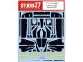 STUDIO27デカール CD20041 1/20 ロータス 107 1992 カーボンデカール 【メール便可】