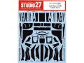 STUDIO27デカール CD20044 1/20 ロータス 107B カーボンデカール 【メール便可】