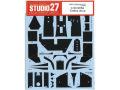 STUDIO27デカール CD20046 1/20 ブラバム BT52 カーボンデカール 【メール便可】