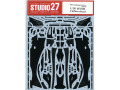 STUDIO27デカール CD20047 1/20 フェラーリ SF70H カーボンデカール 【メール便可】