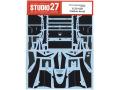 STUDIO27デカール CD20049 1/20 ティレル 020 カーボンデカール 【メール便可】