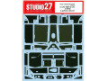 STUDIO27デカール CD20050 1/20 McLaren MP4/2C 1986 Carbon Decal (for Nunu) 【メール便可】