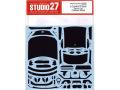 STUDIO27デカール CD24021 1/24 トヨタ 86 GT 2016 Dress Up カーボンデカール 【メール便可】