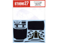 STUDIO27デカール CD24023 1/24 シビック EG6 Dress Up カーボンデカール 【メール便可】