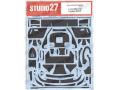 STUDIO27デカール CD24027 1/24 AMG GT3 カーボンデカール 【メール便可】