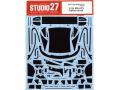 STUDIO27デカール CD24028 1/24 BMW M6 GT3 カーボンデカール 【メール便可】