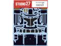 STUDIO27デカール CD24031 1/24 ポルシェ 911GT1 カーボンデカール 【メール便可】