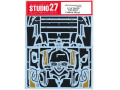 STUDIO27デカール CD24035 1/24 Toyota TS050 Carbon decal (for Tamiya) 【メール便可】