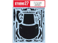 STUDIO27デカール CD24036 1/24 GR Supra Dress up Carbon decal (for Tamiya) 【メール便可】