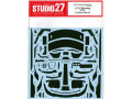 STUDIO27デカール CD24038 1/24 Ford Mustang GT4 Carbon decal (for Tamiya) 【メール便可】