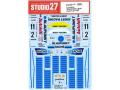 STUDIO27デカール DC1170 1/24 962C BLAUPUNKT #2/#11 Supercup 1989 デカール 【メール便可】