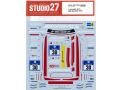 STUDIO27デカール DC1210 1/24 メルセデス AMG GT3 #30 Nur 24h 2016 T社対応【メール便可】