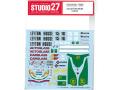 STUDIO27デカール DC783 1/20 レイトンハウス CG901B T社対応【メール便可】