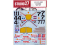 STUDIO27デカール DC793 1/12 NSR500 #1.4.7 WGP 1986 Decal (for Tamiya) 【メール便可】