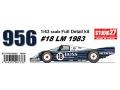 【お取り寄せ商品】 STUDIO27 FD43008 1/43 ポルシェ 956 Boss LeMans 1982