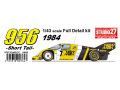 STUDIO27 FD43017 1/43 ポルシェ 956B NEWMAN 1984 (Short tail)