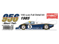 【お取り寄せ商品】 STUDIO27 FD43019 1/43 ポルシェ 956B Rothmans 1985 (Short tail)