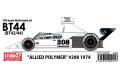 【お取り寄せ商品】 STUDIO27 FK20303 1/20 Brabham BT44 (42/44) #208 1974