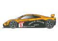 STUDIO27 FK24108 1/24 マクラーレン F1-GTR Frank Muller 1996