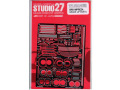 STUDIO27 FP24142 1/24 インプレッサ WRX グレードアップパーツ