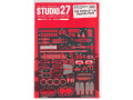 STUDIO27 FP24213 1/24 Ford GT LM Upgrade Parts for Revell
