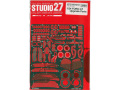 STUDIO27 FP24214 1/24 Ford GT Upgrade Parts for Tamiya