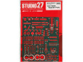 【お取り寄せ商品】 STUDIO27 FP24215 1/24 Toyota TS050 Upgrade Parts for Tamiya