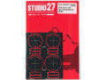 STUDIO27 FP24221 1/24 Gr.C car Tyre Template D (GOODYEAR/EAGLE)