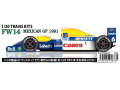 【お取り寄せ商品】 STUDIO27 TK2027R 1/20 Williams FW14 Mexico GP 1991 Conversion Kit