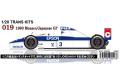 【お取り寄せ商品】 STUDIO27 TK2042 1/20 Tyrrell 019 Manoco / Japanese GP 1990 Conversion Kit