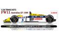 STUDIO27 TK2057 1/20 ウィリアムズ FW11 オーストラリアGP 1986 トランスキット