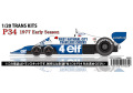 【お取り寄せ商品】 STUDIO27 TK2064 1/20 Tyrrell P34 1977 Early season Conversion Kit