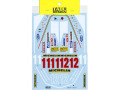TABUデザイン 12057 1/12 Ferrari 312T4 Full Sponsor Decal (for Tamiya) 【メール便可】