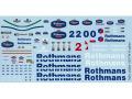 TABUデザイン 20064 1/20 Williams FW16 Option Decal (for Fujimi) 【メール便可】