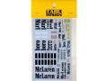 TABUデザイン 20156 1/20 McLaren MP4/2C Option Decal (for NuNu) 【メール便可】