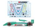 TABUデザイン 20158 1/20 Lola T93/50 NISSEKI K.Hoshino #1 1994 F3000 Decal (for Elephant Models) 【メール便可】