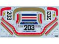 TABUデザイン 24019 1/24 ポルシェ 961 Rothmans Le Mans 1987(タミヤ対応)【メール便可】