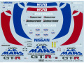TABUデザイン 24022 1/24 NISMO GT-R CLUB Le Mans 1995 (タミヤ対応)【メール便可】